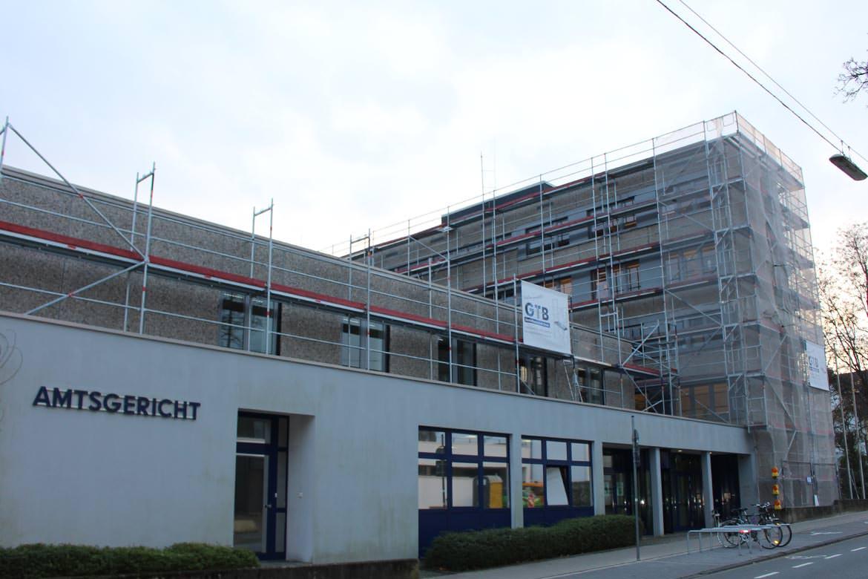 Gerüstbau Recklinghausen, Reitzensteinstraße, Amtsgericht